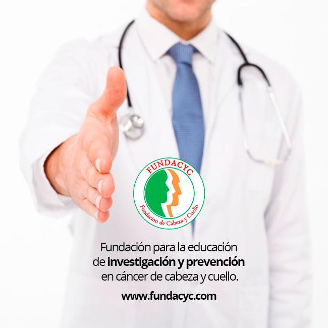 Fundación para la educación  de investigación y prevención  en cáncer de cabeza y cuello.